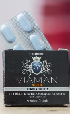Viaman unter natürlichen Aphrodisiaka für Männer.