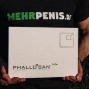 Penisverlängerung Artikelbild mit Chris und dem Phallosan.