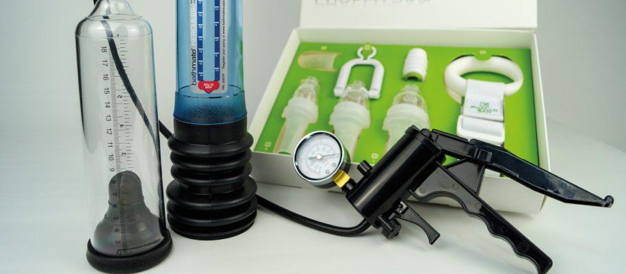 Die Anwendung einer Vakuumpumpe benötigt zwar etwas Geduld, doch langfristig kannst Du damit Deinen Penis vergrößern und Erektionsprobleme behandeln