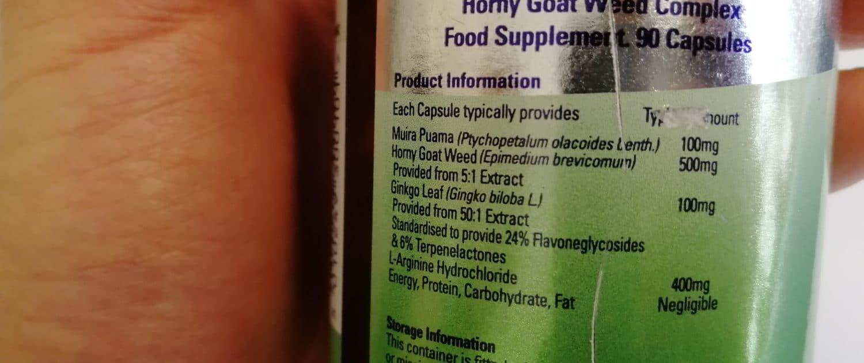 Du solltest bei der Einnahme von Horny Goat Weed, immer auf die Dosierung achten. Eine unsachgemäße Anwendung kann zu Nebenwirkungen führen
