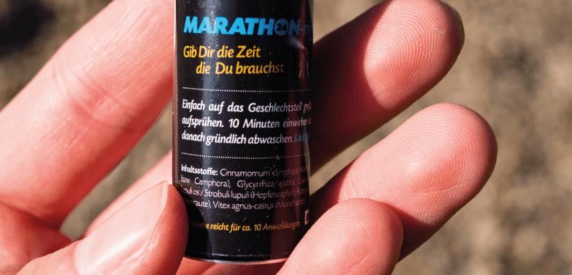 Erfahrungen zur Nutzung des Marathon Night Sprays.