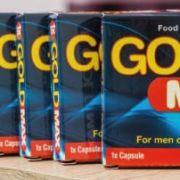 Gold Max Verpackungen für den Artikel.