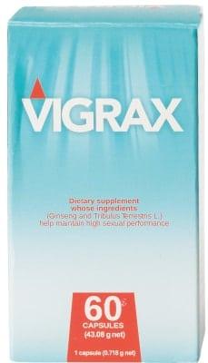 Vigrax ist ein nicht rezeptpflichtiges Mittel.