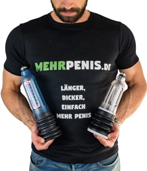 Penis größer machen mit Vakuumpumpen