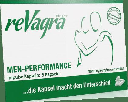 Revagra Verpackung mit der wir im Test Erfahrungen gesammelt haben