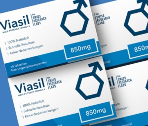 Die Viasil 40er Packung.
